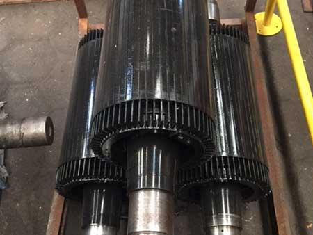 Reparación de rotores de aero generador