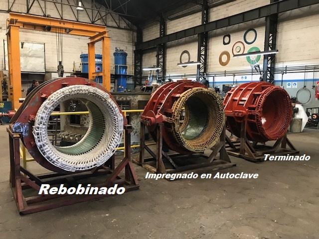 Trabajos en motor Stromberg de 1850kw para Papel Prensa